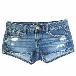 American Eagle outfitters distressed shorts Sz 2